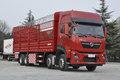 东风新疆 天龙KL燃气 380马力 8X4 9.4米LNG仓栅式载货车