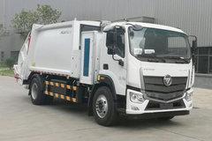 福田 欧马可智蓝 18T 9.5米纯电动压缩式翻桶垃圾车(BJ5182ZYSEV-H1)217.19kWh