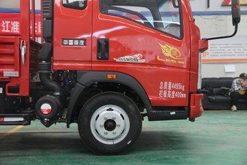 中国重汽HOWO 悍将 经典款 116马力 3.3米排半栏板轻卡(ZZ1047C2813E145)图片