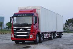 南骏汽车 瑞宇K60G 300马力 6X2 9.47米中置轴货车 卡车图片