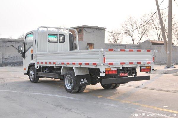 降价促销新奥普力载货车仅售10.50万