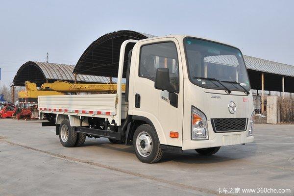 降价促销新奥普力载货车仅售10.20万元