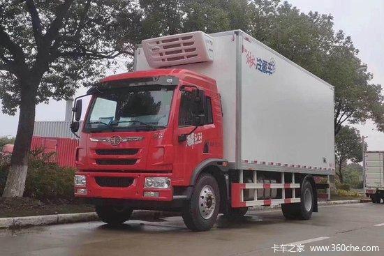 解放 麟VH 190马力 4X2 5.4米冷藏车(CA5160XLCPK42L4E6A85)