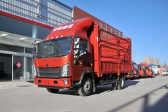 中国重汽HOWO 王系 160马力 4.15米单排仓栅式轻卡(ZZ5047CCYF3314E145)