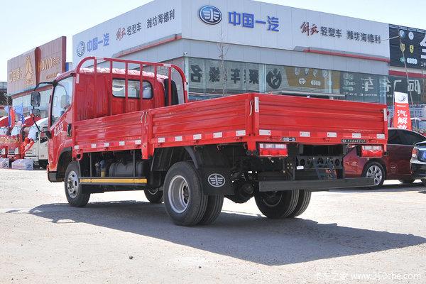 回馈客户榆林虎V载货车6.2米仅售12.60万