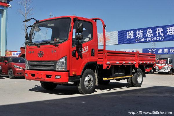 降价促销永州解放虎V载货车仅售10.56万