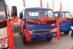 江淮 骏铃II 115马力 3.9米排半栏板轻卡 卡车图片