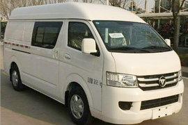 福田 風景智藍 3.5T 4座 5.32米純電動廂式運輸車50.23kWh