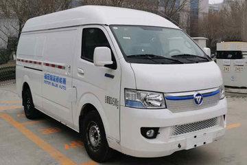 福田 风景智蓝 3.5T 2座 3.48米纯电动厢式运输车50.23kWh