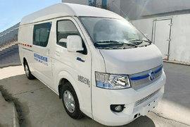 福田 風景智藍 3.45T 4座 5.32米純電動廂式運輸車50.23kWh