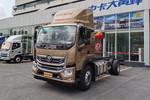 福田 奥铃大黄蜂 185马力 5.75米排半仓栅式载货车(BJ5186CCY-A1)图片