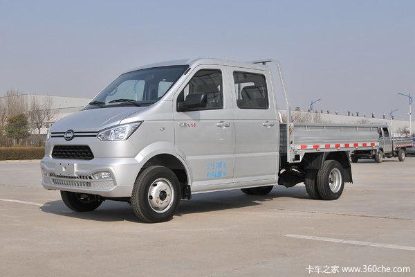凯马 锐捷 1.6L 122马力 2.87米双排栏板微卡(国六)(KMC1033Q360S6)