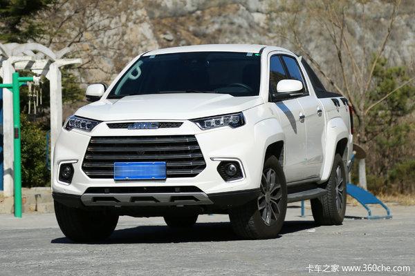 江铃 域虎9 2019款 尊享版 2.0T汽油 220马力 8挡自动 四驱 双排SUV级智能皮卡