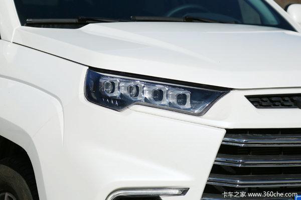 降价促销淮安江铃域虎9皮卡仅售16.98万