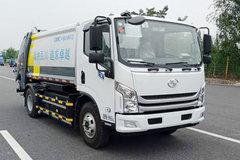 上汽跃进 超越EC300 10T 6.91米纯电动翻桶压缩式垃圾车(中集牌)(ZJV5100ZYSHBNBEV)162.28kWh