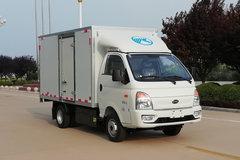 凯马 锐航 3.5T 3.48米单排纯电动厢式载货车(KMC5033XXYBEVB318X1)58.91kWh