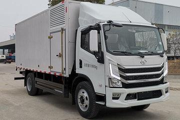 上汽跃进 FH500-42 12T级 4.5米氢气燃料电池厢式运输车(SH5127XXYZKFCEVWZ)续驶400km图片