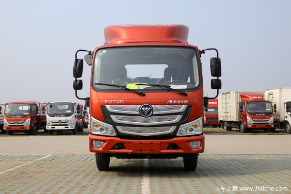 福田 欧马可S1系 畅盈版 143马力 4.14米单排厢式轻卡(BJ5048XXY-FC)