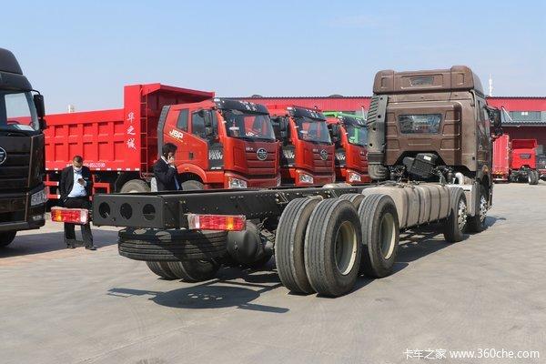 一汽解放 新J6P重卡 领航版 460马力 8X4 9.5米仓栅式载货车(CA5310CCYP66K24L7T4E5)