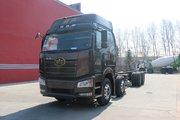 一汽解放 新J6P重卡 领航版 460马力 8X4 9.5米栏板载货车(CA1310P66K24L7T4E5)