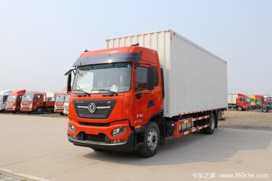 东风商用车 天锦KR中卡 绿通版 220马力 4X2 8米厢式载货车(高顶)(DFH5180XXYE4)