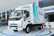 福田 奥铃智蓝 4.5T 4.14米单排纯电动厢式微卡(BJ5045XXYEV7)81.14kWh