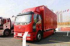 解放 J6L 4X2 18T 7.7米排半纯电动厢式运输车(CA5180XXYP62L4BEV)218.5kWh