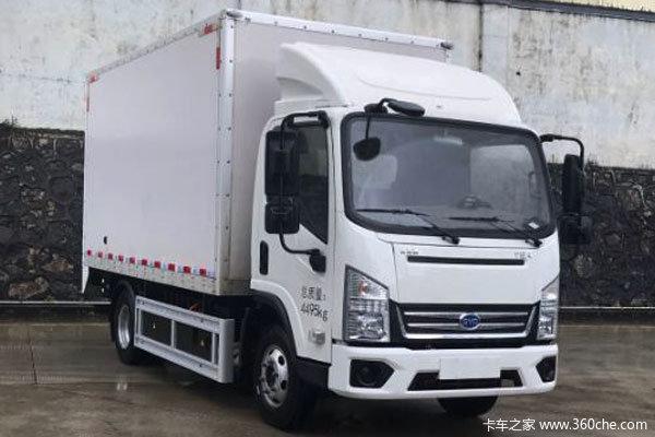 优惠0.5万 北京市T5电动轻卡火热促销中