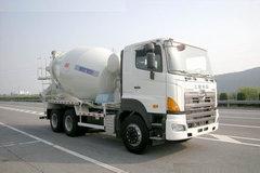 广汽日野 700系列 350马力 6X4 混凝土搅拌车(HDJ5250GJBGH)