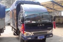 江淮 骏铃II 110马力 3.8米排半仓栅轻卡(HFC5048XXBK103R1) 卡车图片