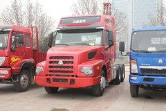 中国重汽 威泺重卡 336力 6X4 牵引车(长头高顶)(ZZ4259N394CC1B) 卡车图片