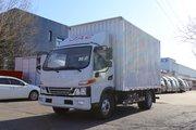 江淮 骏铃V6 150马力 4.15米单排厢式轻卡(国六)(HFC5043XXYP31K1C7S)