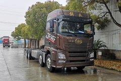青岛解放 JH6重卡 领航版 460马力 8X4 9.5米AMT自动挡厢式载货车(CA5320XXYP25K2L7T4E5A80)