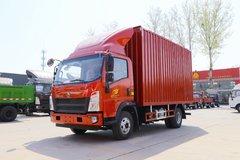 中国重汽HOWO 统帅 2019款 156马力 4.15米单排厢式轻卡(国六)(ZZ5047XXYG3315F144) 卡车图片