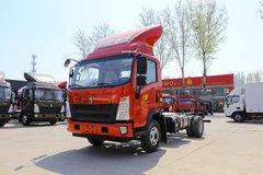中国重汽HOWO 统帅 156马力 4.15米单排仓栅轻卡(ZZ5047CCYG3315F144) 卡车图片