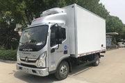 福田 奥铃捷运 130马力 4X2 4.085米冷藏车(程力威牌)