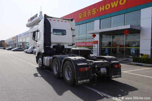 优惠0.5万赤峰市HOWOT7H牵引车促销中