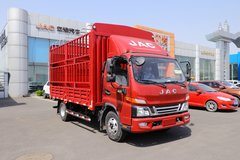 江淮 骏铃V6 163马力 4.18米单排仓栅式轻卡(国六)(HFC5042CCYP31K1C7S) 卡车图片