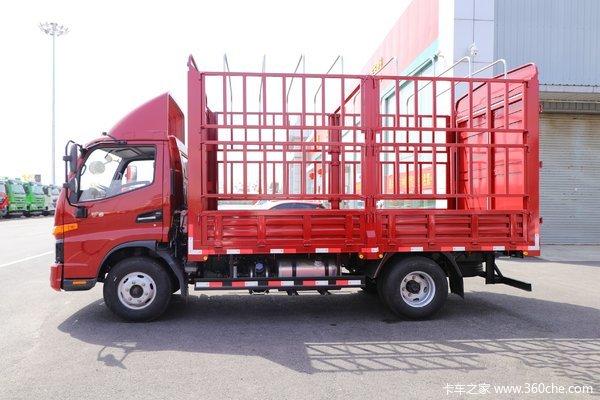 仅售13.69万江淮骏铃V6载货车优惠促销