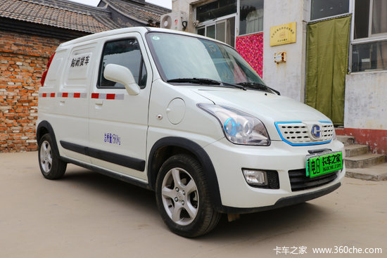 昌河 北斗星X5E 1.58T 2座 3.664米純電動廂式運輸車