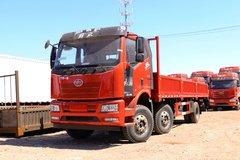 一汽解放 J6L重卡 质惠版 260马力 6X2 8.7米栏板载货车(国六)(CA1250P62K1L5T3E6) 卡车图片
