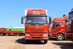 一汽解放 J6L中卡 240马力 4X2 9.6米翼开启厢式载货车(CA5180XYKP62K1L5E5)图片