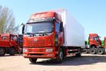 一汽解放 新J6L重卡 180马力 4X2 7.7米厢式载货车(国六)(CA5180XXYP62K1L5E6)图片