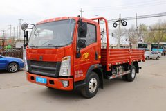 中国重汽HOWO 王系 130马力 4.15米单排栏板轻卡(国六)(ZZ1047F3315F144)