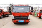 中国重汽HOWO 王系 160马力 3.85米排半栏板轻卡(ZZ1047C3314E145-2)图片