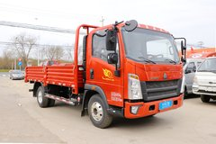 中国重汽HOWO 王系 130马力 4.15米单排栏板轻卡(国六)(ZZ1047F3315F144) 卡车图片