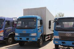 青岛解放 骏威(J5K)中卡 160马力 4X2 7.6米厢式载货车(CA5120XXYPK2L5EA80-3) 卡车图片