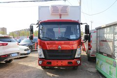 中国重汽HOWO 悍将 130马力 4X2 4.1米冷藏车(ZZ5047XLCC3314E145)图片