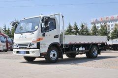 江淮 骏铃V6 150马力 4.22米单排栏板轻卡(国六)(HFC1043P31K1C7S) 卡车图片