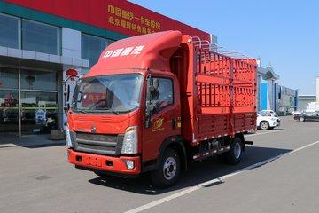 中国重汽HOWO 王系 160马力 4.15米单排仓栅轻卡(国六)(ZZ5047CCYG3315F144)